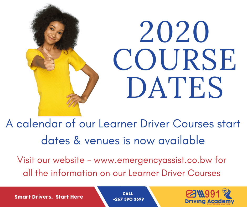 EA991 Driving Academy has published its 2020 Post Covid Learner Driver Courses