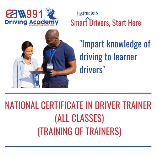 Driver Trainer-National Certificate