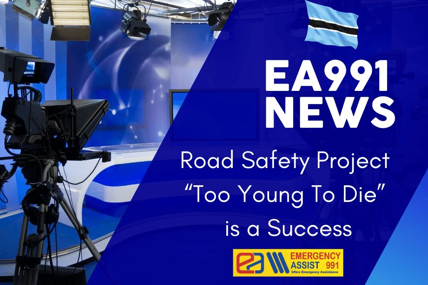 News about the Too Young To Die Road Safety project
