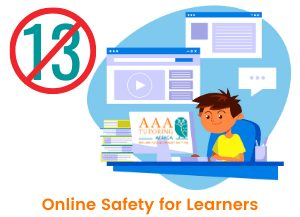 A learner of 13 years old and younger may not transact on our website,