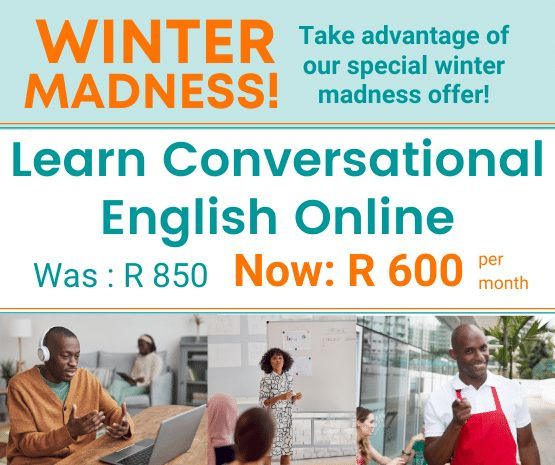 Learn Conversational English Online. AAA Tutoring can match you with a Tutor to assist you to become fluent and master conversation in English.