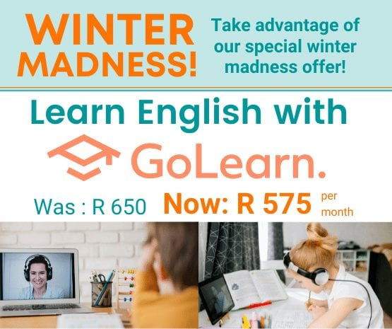 Learning English Online is made easy with Go Learn! Go Learn is a comprehensive AI-based, online self-study English Language & Literacy Learning programme from Grade R to Grade 12.